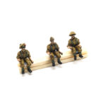 BD16 – British Mediterranean Infantry – Drivers (for trucks etc) (3) (asstd. headgear)