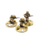 BD21 – British Mediterranean Infantry – 3 x Riflemen moving