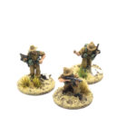 BD32 – British Mediterranean Infantry – 3 x NCO`s (2 x Thompson SMG, 1 with Rifle)