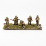 BF02 – British Expeditionary Force – NCO with rifle and 4 Riflemen