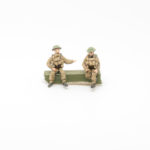BF13 – British Expeditionary Force – 2 x Seated gunners for 18pdr or 25pdr guns