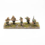 BF14 – British Expeditionary Force – Bren LMG Team (2) and 3 Riflemen Moving