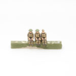 BF23 – British Expeditionary Force – Crew for Morris CDSW (BV30) (7 figures fixed to seats)