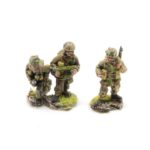 BP08 – Engineer Group, 3 x Sappers including flame-thrower