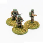 BT30a – Bren LMG gunner, No2 and NCO Moving