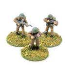 BT31a – Bren LMG gunner, No2 and NCO skirmishing