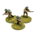 BT33a – Rifle group skirmishing (3 figures)