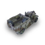 BV051 – British – LRDG Chevy WA Radio Car