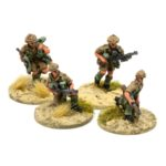 BX05 – South African – 2 x 2-Man Bren Gun Teams, 1 x advancing & 1 x firing