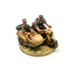 DK15 – Motorcycle and sidecar with 2 x Crew