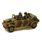 GV017 – Kubelwagen Kfz1 Light Car, inc 4 Infantry Crew