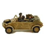GV018 – Kubelwagen Kfz2 Radio Car, inc 3 Infantry Crew