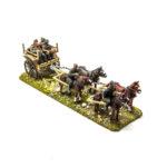 GV024 – Limber & 6 Horse team, inc 7 Horse & Limber Riders