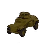 GV037 – Sdkfz 222 Light Armoured Car, late version
