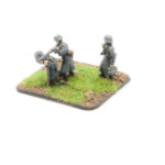 GW01 – German Infantry in Greatcoats – MG42 Team Firing, x3 inc. NCO with MP40