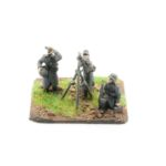 GW08 – German Infantry in Greatcoats – MG34 Anti Aircraft Team, x3
