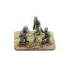 GW09 – German Infantry in Greatcoats – 8cm Grw 34 Mortar & 3 Crew, firing