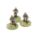 RA05 – 3 x Infantrymen with PPSH smg skirmishing