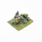 SE22 – MMG and 3 x Crew firing (parts to make MG42 or MG34)