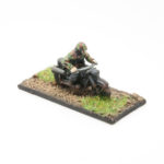 SS20 – German SS Panzer Grenadiers (smock, ankle boots, webbing, M1943 caps) – Solo Motorcycle & Rider