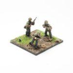 SS44c – Riflemen with Kar 98 rifle's x3 Moving