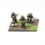 SS45c – Riflemen with Kar 98 rifle's x3 skirmishing