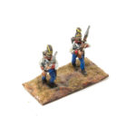 AUA13 – Hungarian Helmet, Porte Arms (2 poses in pack)