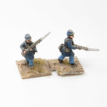 CWA027 – Frockcoat and Kepi, Advancing (2 poses in pack)