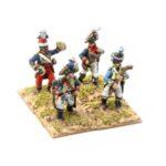 FRA100 – French Bandsman Guard Drum Major 3 Bandsmen
