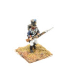 FRA027 – French Line Full Dress Fusilier Porte Arms Late Shako