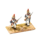 FRA075 – French Line with Covered Shako and Trousers Grenadier Porte Arms (2 poses in pack)