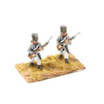 FRA082 – French Line in Greatcoat Fusilier Porte Arms Early Shako (2 poses in pack)