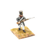 FRA083 – French Line in Greatcoat Fusilier Advancing Early Shako
