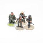 CIG01 – Capt Stransky in Greatcoat carrying HelmetMP40 & Steiner in Field Cap, Smock & Ppsh